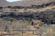 Ajanta - Buddha, Höhlen und Hitze
