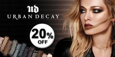 Toda a marca Urban Decay com 20% de desconto na Loja Glamourosa!  #promo #urbandecay #maquilhagem