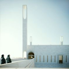 Mosque at Dubai Creek Harbor, designed by Luca Poian Via .- Mosque at Dubai Creek Harbor, designed by Luca Poian Via .- sea, salt, sand Create a beautifully pink space with these pink bathroom wallpaper ideas. Mosque Architecture, Public Architecture, Architecture Concept Drawings, Sacred Architecture, Religious Architecture, Architecture Plan, Architecture Details, Architectural Design Studio, Architectural Drawings