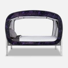 The Bed Tent Starry Constellation Van Conversion Interior, Camper Van Conversion Diy, Floor Bed Frame, Futon Bed, Kids Tents, Bed Tent, Bed Springs, Shared Bedrooms, Types Of Beds