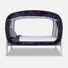 The Bed Tent Starry Constellation Vans For Kids, Floor Bed Frame, Van Conversion Interior, Bedroom Furniture Sets, Bedroom Sets, Furniture Ideas, Futon Bed, Kids Tents, Bed Tent