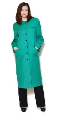 green coat outfit winter emeralds  US$149.95