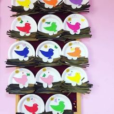 Bird Nest Craft Children of all ages will enjoy one of our favorite spring crafts for kids- a sweet little nest and baby bird craft! Octopus Crafts, Bird Crafts, Snowman Crafts, Christmas Crafts, Sea Animal Crafts, Animal Crafts For Kids, Art For Kids, Fall Arts And Crafts, Spring Crafts For Kids