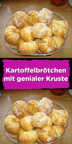 Potato rolls with a brilliant crust - Potato rolls with a brilliant crust – simple and healthy rolls with whole grain and various seeds - Easy Cake Recipes, Easy Dinner Recipes, Baking Recipes, Easy Meals, Low Carb Breakfast, Easy Healthy Breakfast, Vegan Breakfast Recipes, Chocolate Cake Recipe Easy, Chocolate Recipes