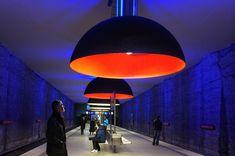 Ingo Maurer Munich Metro Stations Lighting | Light my nest
