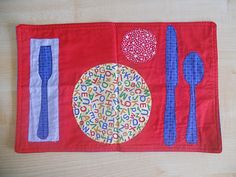 LOVE this placemat for table setting work!! Would go well with napkin folding activities too.