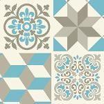 Vinil Adesivo Azulejo Decorativo E Parede Vaxx-035 - Litoarte