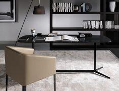 CLYFFORD Secretary desk by Minotti design Rodolfo Dordoni
