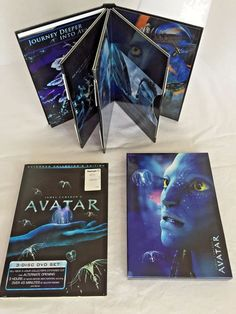 Avatar DVD 2010 3 Disc Set Extended Collector's Edition