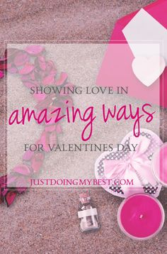 Showing love in amazing ways doesn't have to be just for couples. Read more here.