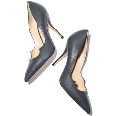 Paul Andrew x goop Zenadia Pump in Midnight Goop ❤ liked on Polyvore featuring shoes, pumps, stiletto heel shoes, cutout pumps, cut out shoes, cutout shoes and stiletto pumps