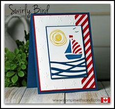 Stampin Up Swirly Bird American Card by Sandi @ www.stampinwithsandi.com