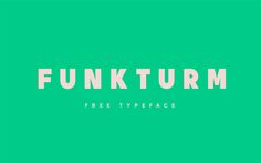Funkturm Free Typeface | Personal & Commercial Use