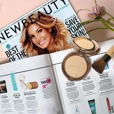 "NewBeauty Magazine awarded our #friendfavorite foundation with a Beauty Choice Award, recognizing it as ""Makeup That Won't Make You Break Out."" Light and finely milled, our PurePressed Base Mineral Foundation is free of talc and other pimple-causing culprits."