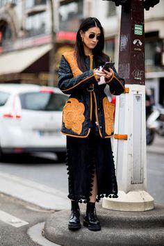 Paris Fashion Week Street Style Fall 2018 Day 5 - The Impression