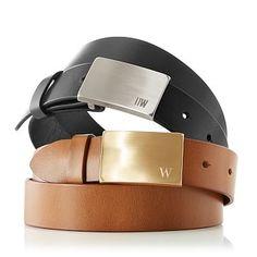 Men's Leather Belt #makeyourmark