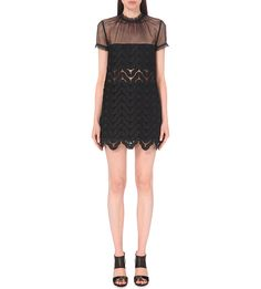 SELF-PORTRAIT - Evie embroidered lace dress   Selfridges.com