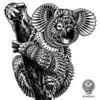 Ornate Koala by BioWorkZ