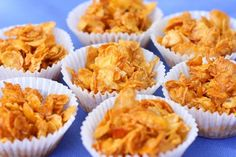 golden corn flakes covered in honey, its no wonder they're called Honey Joys. Sweet Desserts, Easy Desserts, Sweet Recipes, Dessert Recipes, Quick Dessert, Cereal Recipes, Easy Recipes, Aussie Food, Australian Food