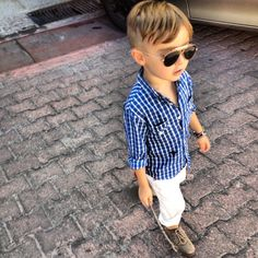 This child has the most adorable fashion!  From For Fashion Freaks