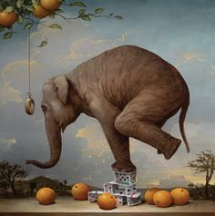 Artifact Puzzles - Kevin Sloan Consequences of Hypnosis Wooden Jigsaw Puzzle Artifact Puzzles http://www.amazon.com/dp/B006J2IGT0/ref=cm_sw_r_pi_dp_RpTAub1J931R8