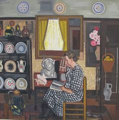 1939 Jean Brusselmans Het grote interieur