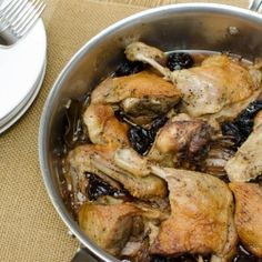 roasted duck with prunes recipe
