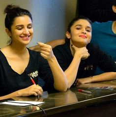 Parineeti Chopra & Alia Bhatt