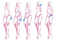 Figure Drawing Tutorial August commission 3 wip 2 by rika-dono - Figure Drawing Tutorial, Figure Drawing Reference, Drawing Reference Poses, Drawing Body Poses, Anatomy Poses, Poses References, Character Poses, Character Design, Art Poses