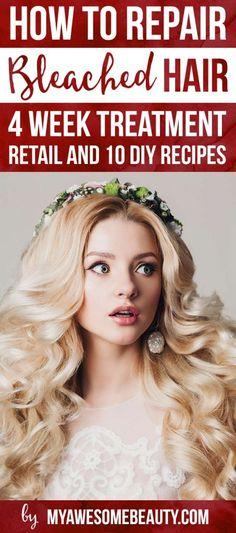 How to repair bleached hair