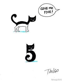 Minimalistische Comics mit (Wort)Witz von Shanghai Tango