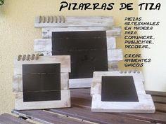 PIZARRAS DE TIZA
