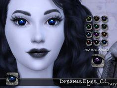 Simsworkshop: Dreams Eyes by Taty • Sims 4 Downloads