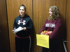 """""""Elevated Education"""" (Cash Cab style) Program! RMs stand in the elevator at random times and ask rezzies educational questions. If they get it correct, they get a piece of candy!"""