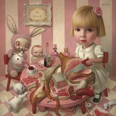 Mark Ryden..barely there