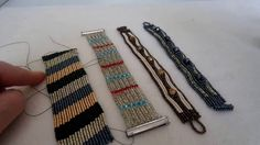 Something went wrong. Seed Bead Tutorials, Beading Tutorials, Beading Patterns, Bead Jewellery, Beaded Jewelry, Beaded Bracelets, Handmade Home, Handmade Jewelry, Design Youtube