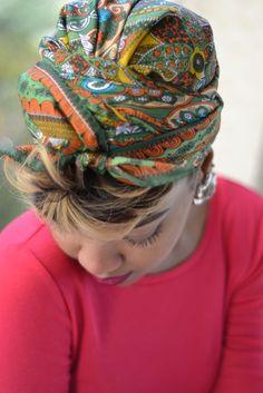 Silk Head Wrap + A Tiered Mini Skirt | MARLEY SIMONE