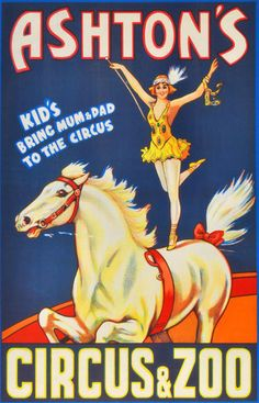 Six generations of the Ashton family have performed in Australian circuses.