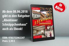 """Demnächst auch als Ebook, das """"Abenteuer Schnäppchenhaus"""". Mit vielen Bilder und Links. Das Ebook kann jetzt schon bei BoD vorbestellt werden: https://www.bod.de/buchshop/abenteuer-schnaeppchenhaus-manu-wirtz-9783752862287  Nur 5,99 €."""