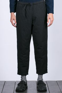 Tigre Brocante Qulited Easy Tapered Pants