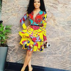 The complete collection of Exotic Ankara Gown Styles for beautiful ladies in Nigeria. These are the ideal ankara gowns African Fashion Designers, African Fashion Ankara, African Inspired Fashion, Latest African Fashion Dresses, African Dresses For Women, African Print Dresses, African Print Fashion, Africa Fashion, African Attire