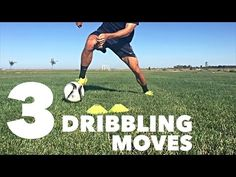 25 Fast Footwork Soccer/Football foot skill drills with 2 cones | PDSA Soccer - YouTube