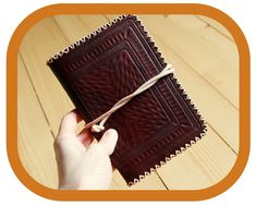 Travel Organizer Wallet – Dark Brown Leather - Passport Cover – Travel Documents and Notebook Holder - Handcrafted – Hand tooled – Rustic Leather Bags, Leather And Lace, Leather Craft, Tan Leather, Festival Accessories, Travel Organization, Passport Cover, Dark Brown Leather, Vegetable Tanned Leather
