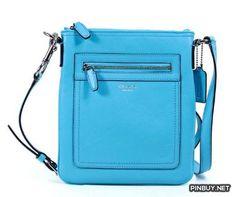 Coach Legacy Leather Swingpack Crossbody 47989 Robin - Cross Body - Bags and Purses