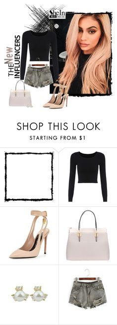 """SheIn Wardrobe"" by prettysexiness ❤ liked on Polyvore featuring Hello Kitty, Justin Bieber and Tom Ford"