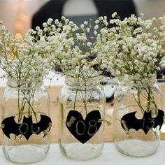 A Perfectly Balanced Rustic and Batman Wedding~~ Don't forget personalized napkins for all of your wedding events! #wedding #ideas www.napkinspersonalized.com