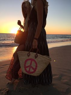 Peace Wicker Bag www.cocoyana.com