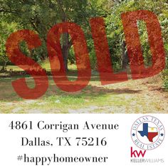 We are SOLD on this wonderful lot for our clients. #happyhomeowner #dallasrealestate