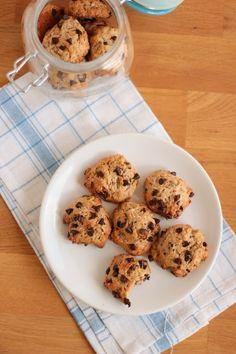 cookies moelleux banane chocolat vegan chocolate chip banana cookies