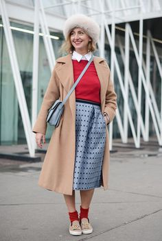 Winter Street Style 2015 | POPSUGAR Fashion